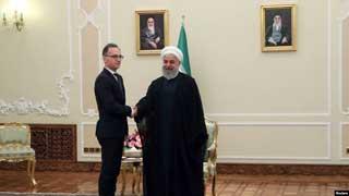 Iran's President meets with German FM in Tehran