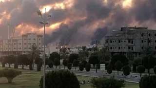 Drones spark fires at 2 Saudi Aramco oil facilities