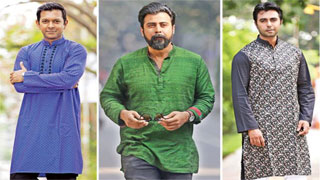 Three heart-throbs appear in one drama
