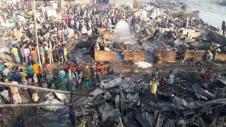 9 burnt dead in Chattogram slum fire