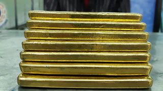 Malaysian citizen arrested with 7kg gold