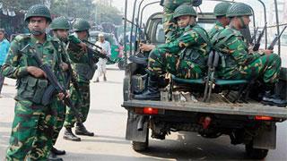 Army begins election duty