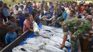 Indonesia tsunami death toll reaches 373