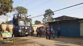 Cops foil garment workers' demo in Savar