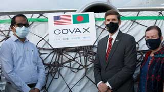 US assures Covid cooperation to continue as 1m doses of Pfizer's vaccine received