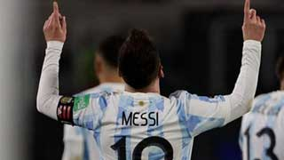 Messi breaks Pele record as Argentina rout Bolivia