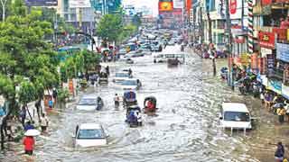 ঢাকার জলাবদ্ধতা: এক দশকে জলে গেল ৩০০০ কোটি টাকা