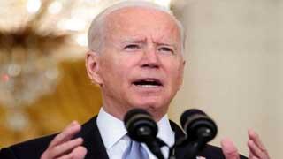Biden blames Afghans for Taliban takeover