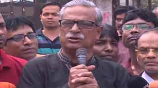 মানববন্ধন করে খালেদা জিয়ার মুক্তি হবে না : জয়নাল আবদিন ফারুক