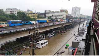 Heavy downpour floods Chittagong city