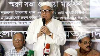 জনগণ ৩০ ডিসেম্বরের ভোট বিশ্বাস করে না : নজরুল ইসলাম খান