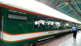 Train services on Dhk-M'sing route restored after 7 hrs