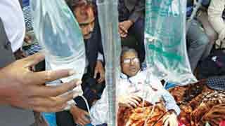 15 fall sick, more teachers join fast till death