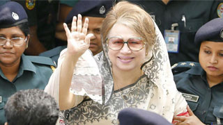 Khaleda Zia taken back to jail after medical tests