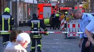 3 dead as van drives into German crowd