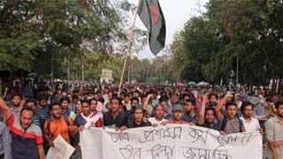 Protesters reunite, announce non-stop strike
