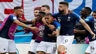 France's Mbappe breaks Argentina heart