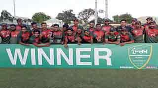 Tamim-Mahmudullah lead Tigers to ODI series win