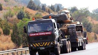 Turkey deploys reinforcements to Syrian border