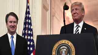 Trump apologises to Kavanaugh over 'unfair' treatment
