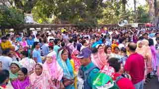 BNP form human chain protesting Khaleda Zia's verdict