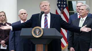 Trump threatens 'national emergency' over wall