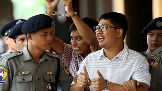 Myanmar court rejects appeal by jailed Reuters reporters