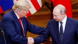 Trump denies hiding detail of Putin summit talks from staff
