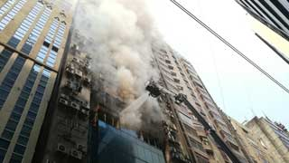 Six confirmed dead, over 50 injured in Banani fire