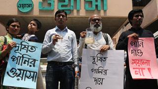 Protestors fail to have Wasa MD consume Wasa water