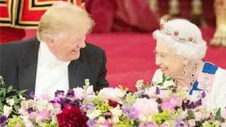 Trump turns to trade talks on UK state visit