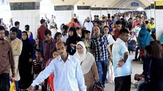 Eid holidaymakers start returning to capital