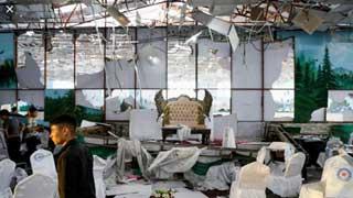 Afghan wedding suicide blast kills 63