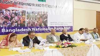 'জাতীয় ঐক্য সৃষ্টি করে রোহিঙ্গা সমস্যার সমাধান করতে হবে'