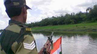 BGB-BSF exchange fire, BSF soldier killed