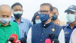 Obaidul sceptic about recurrent incidents of ferries hit Padma Bridge pillars