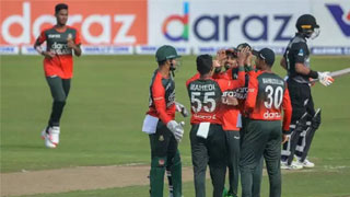 Tigers beat Kiwis by 4 runs in second T20