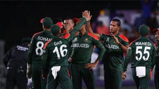 Scotland post a moderate total of 140 vs Bangladesh