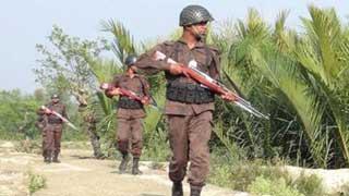 শেরপুরে বিএসএফের গুলিতে বাংলাদেশি যুবক আহত
