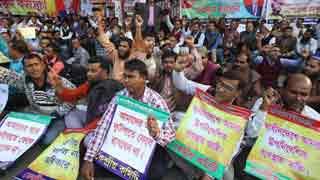 Hunger strike till death, say non-MPO teachers