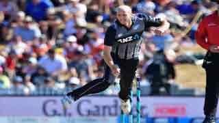 Debutant's double strike beats Windies in first T20