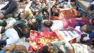 50 sick so far in teachers' hunger strike