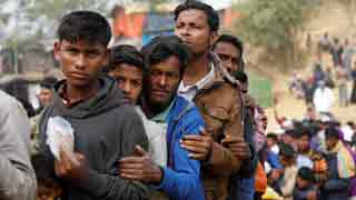 Rohingya refugees protest repatriation move