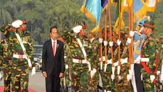 Bangladesh rolls out red carpet for Indonesian president