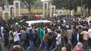 Khaleda Zia's path to return home from Bakshibazar changed