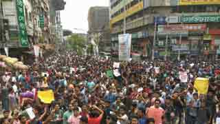 Quota reform demonstrations at JU: 60 hurt in police action