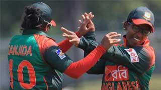 Bangladesh women rout India