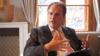 British Minister of State Mark Field in city