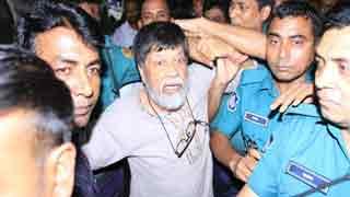 Shahidul Alam taken to BSMMU