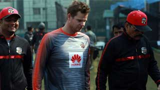 Smith leaves BPL with elbow injury